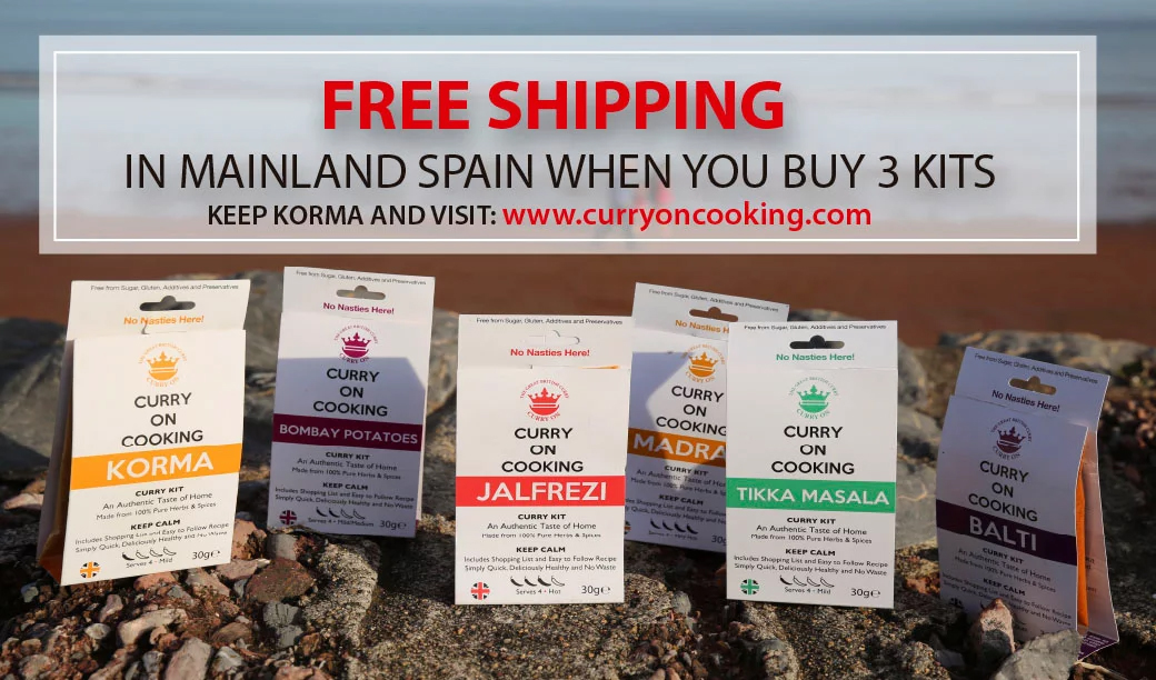 curry on cooking free shipping