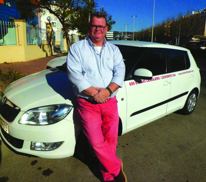 Company Owner, Carl Barclay,