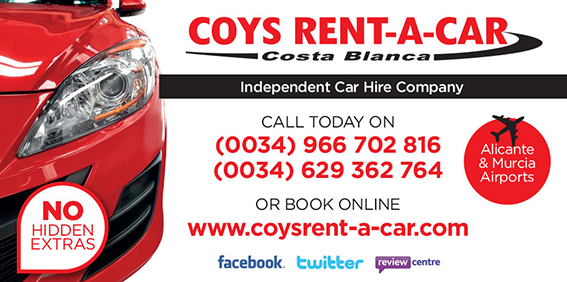 COYS RENT A CAR, THE HONEST WAY TO HIRE A CAR!