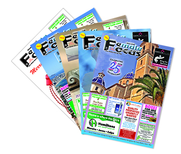 Female Focus magazine serving the English speaking community for over 25 years.