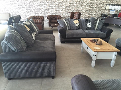 Harris Furnishings - Stockists of quality British and Spanish furniture and complete upholstery service
