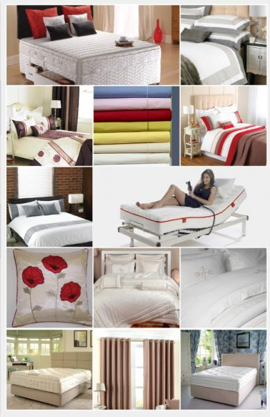 The Bed Centre for beds, bedding, soft furnishings, curtains, mattresses.