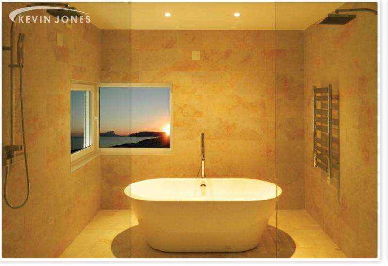 Kevin Jones will create a stylish, beautiful bathroom to your taste and budget.