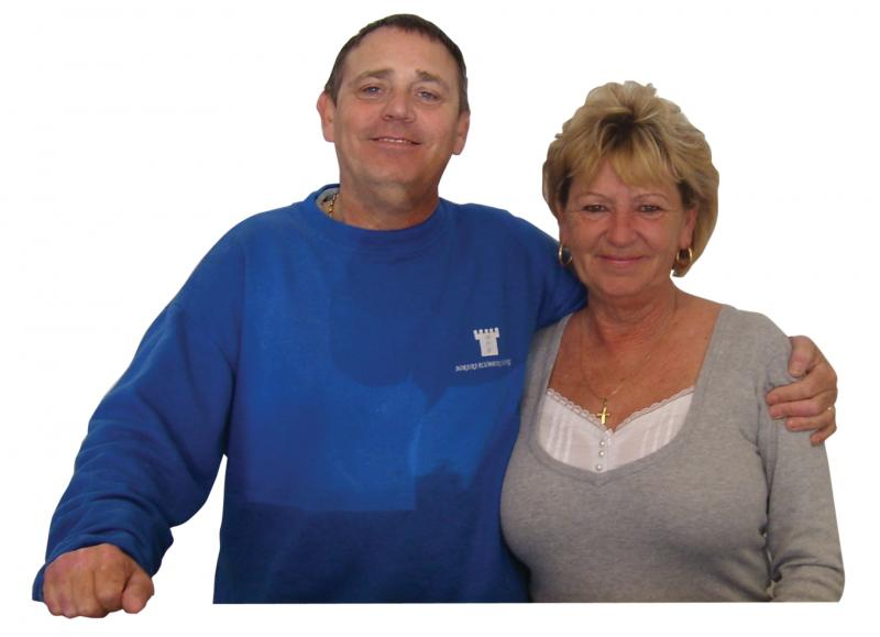 Moraira Plumbing Heating a family run business, owners are Ray & Gwen.