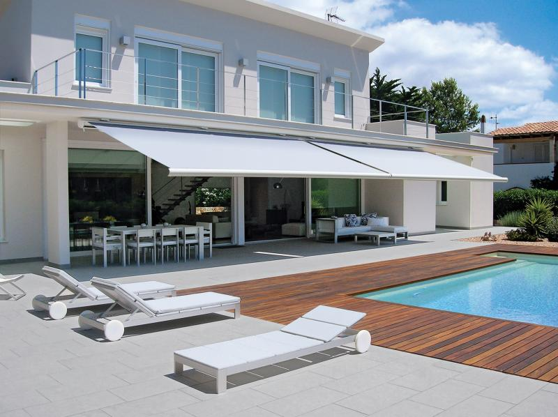 Superb glazing and beautiful awnings can enhance the view
