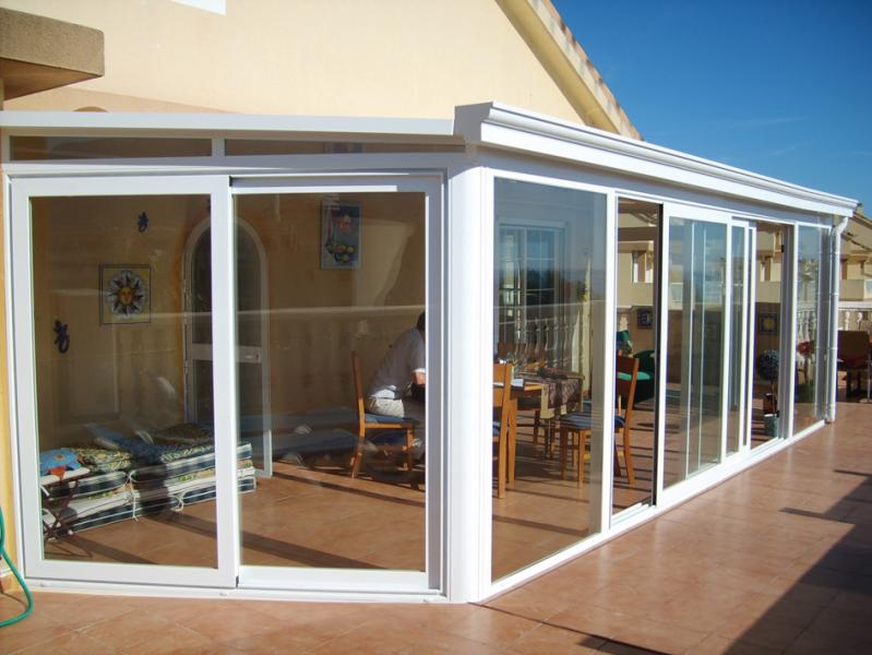 LUX-AL for nayas or conservatories in uPVC or aluminium