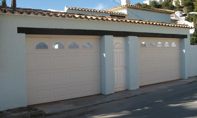 LUX-AL can design garage doors, gates and even matching entrance doors