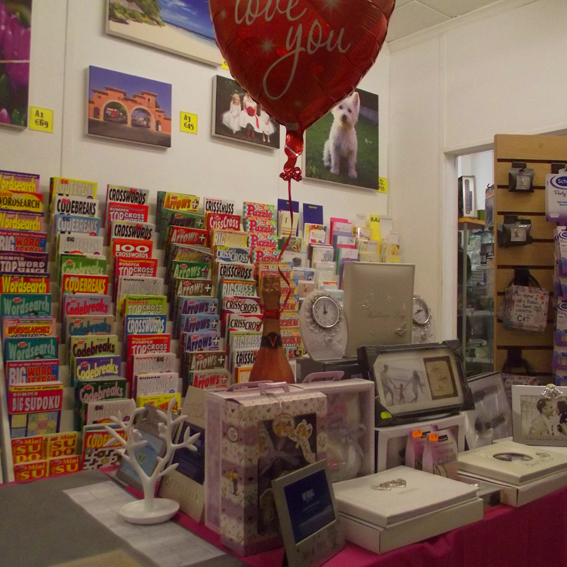 The Card & Gift Shop have so much on offer, delight your friends with a personalised card or gift.